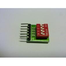 PMDIP DIP switches peripheral module