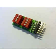 PMDIP2 DIP switches peripheral module